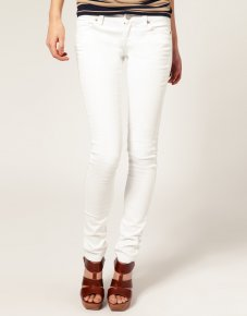 White Stretch Jeans